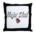 Army Major Stud ver2  Throw Pillow