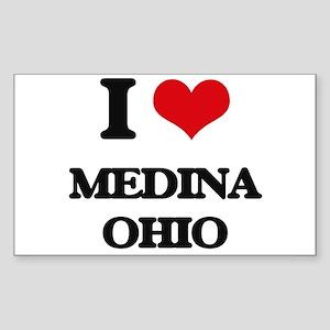 I love Medina Ohio Sticker