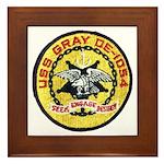 USS GRAY Framed Tile