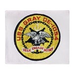 USS GRAY Throw Blanket
