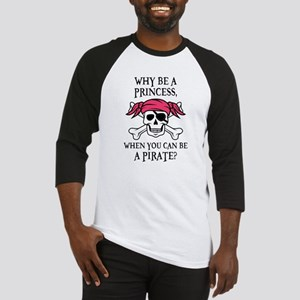 Pink Pirate Baseball Jersey
