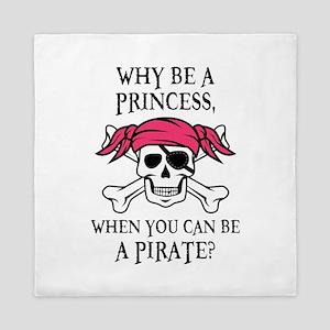 Pink Princess Pigtail Pirate Queen Duvet