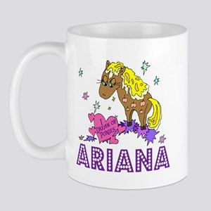I Dream Of Ponies Ariana Mug