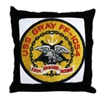 USS GRAY Throw Pillow