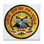 USS GRAY Tile Coaster