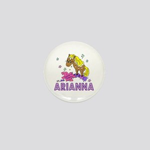 I Dream Of Ponies Arianna Mini Button