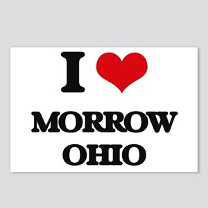 I love Morrow Ohio Postcards (Package of 8)