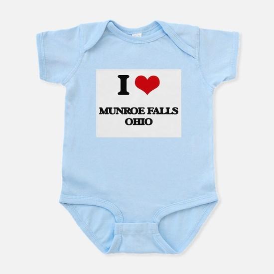 I love Munroe Falls Ohio Body Suit