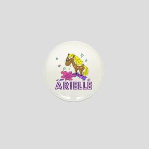 I Dream Of Ponies Arielle Mini Button