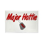 Army Major Hottie Rectangle Magnet (100 pack)