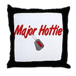 Army Major Hottie  Throw Pillow