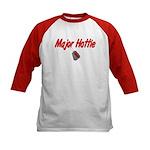 Army Major Hottie Kids Baseball Jersey