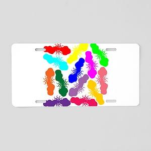 Rainbow Clouds Aluminum License Plate
