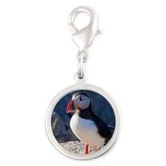 Atlantic Puffin Standing Charms
