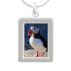 Atlantic Puffin Standing Necklaces