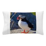 Atlantic Puffin Standing Pillow Case