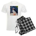 Atlantic Puffin Standing Pajamas