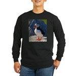 Atlantic Puffin Standing Long Sleeve T-Shirt