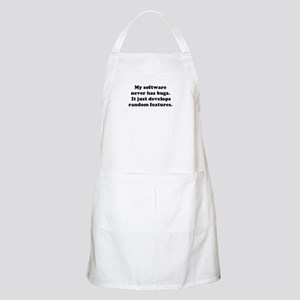 My Software has no Bugs BBQ Apron