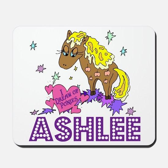 I Dream Of Ponies Ashlee Mousepad