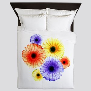 Multiple Daisies Queen Duvet