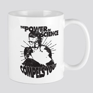 The Power Science Compels You! - Gray Mugs