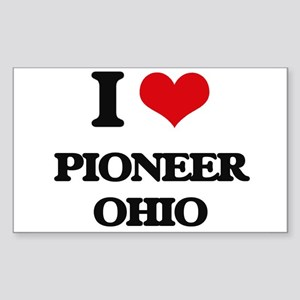 I love Pioneer Ohio Sticker