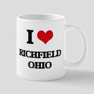 I love Richfield Ohio Mugs