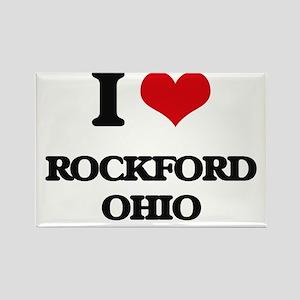 I love Rockford Ohio Magnets