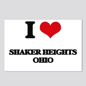 I love Shaker Heights Ohi Postcards (Package of 8)