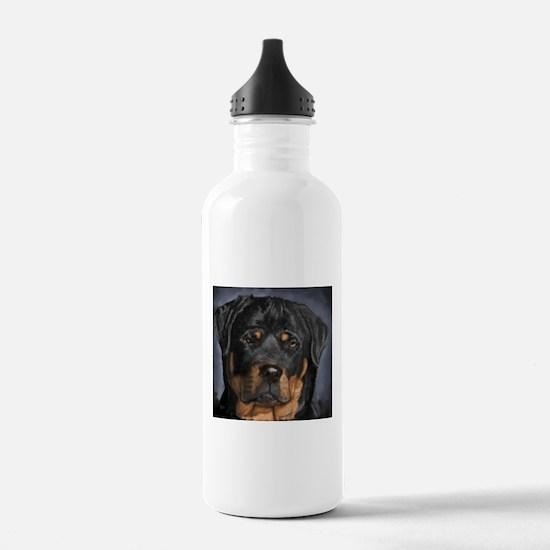 rottweiler Water Bottle