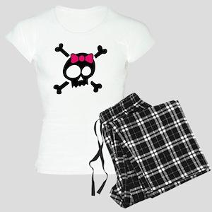 Whimsical Skull & Crossbone Women's Light Pajamas