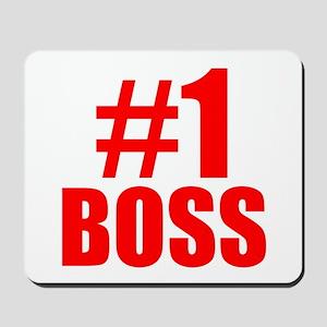 Number 1 Boss Mousepad