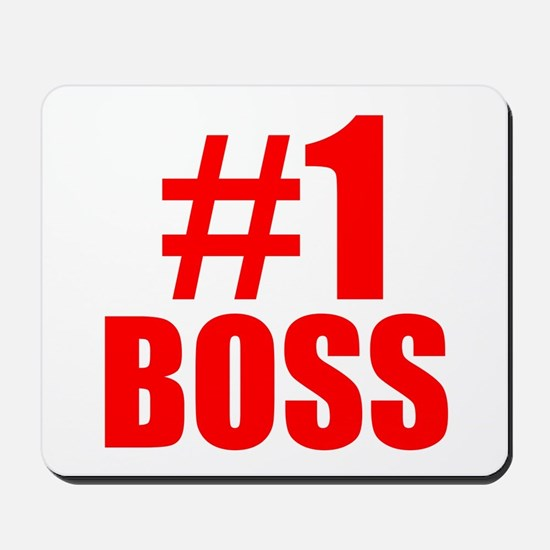 Number 1 Boss Mousepad