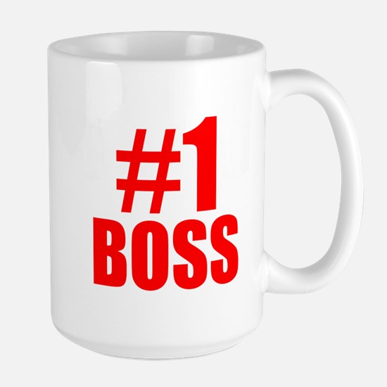 Number 1 Boss Mugs