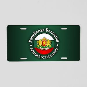 Bulgaria Aluminum License Plate