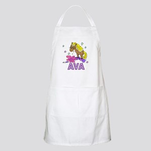 I Dream Of Ponies Ava BBQ Apron