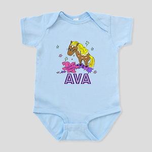 I Dream Of Ponies Ava Infant Bodysuit
