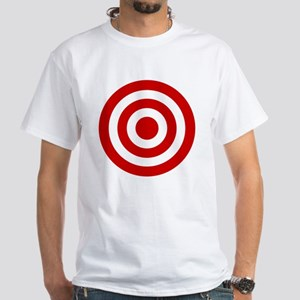 Bull's_Eye White T-Shirt