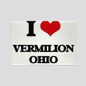 I love Vermilion Ohio Magnets