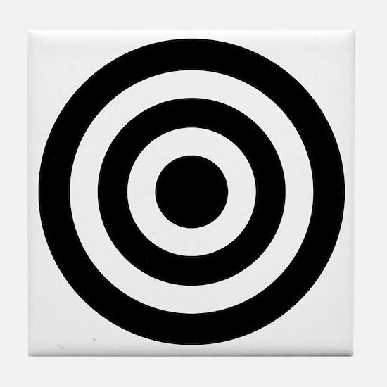 Bull's_Eye Tile Coaster
