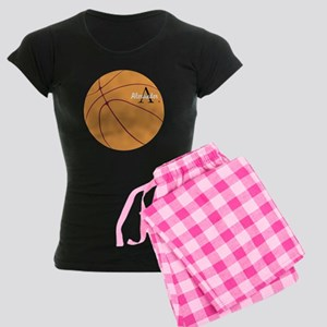 Personalized Basketball Women's Dark Pajamas