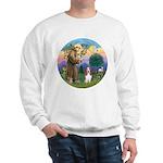 StFrancis-Basset#3 Sweatshirt