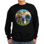 StFrancis-Basset#3 Sweatshirt (dark)