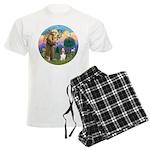 StFrancis-Basset#3 Men's Light Pajamas