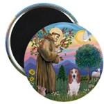 """Stfrancis-Basset#3 2.25"""" Magnet (10 Pack) Mag"""