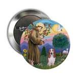 """Stfrancis-Basset#3 2.25"""" Button (10 Pack)"""