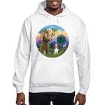 StFrancis-Basset#3 Hooded Sweatshirt