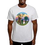 StFrancis-Basset#3 Light T-Shirt