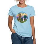 StFrancis-Basset#3 Women's Light T-Shirt